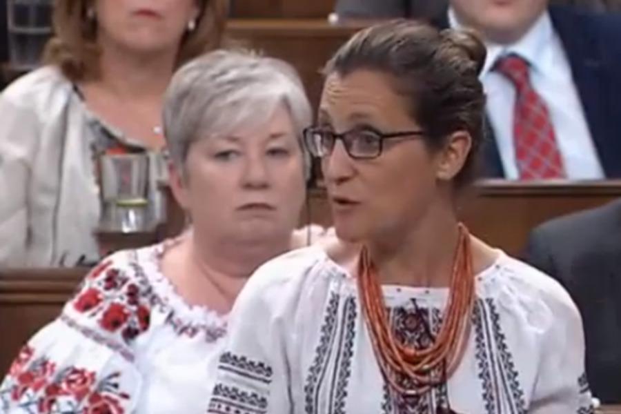"""""""Гніздо бандерівщини"""": Мережу розчулило відео з канадськими парламентаріями у вишиванках"""