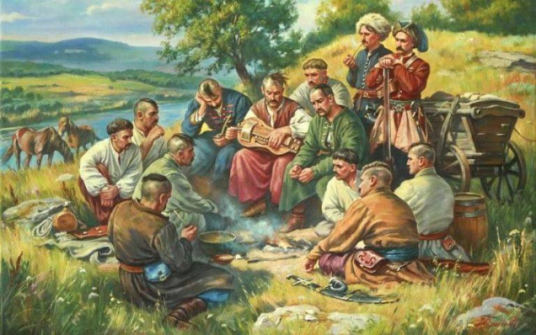 козаки кобзарі
