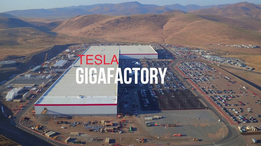 Tesla завод Gigafactory