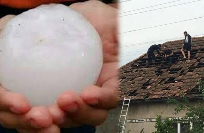Зливи з градом на Закарпатті: у ДСНС показали нові вражаючі фото