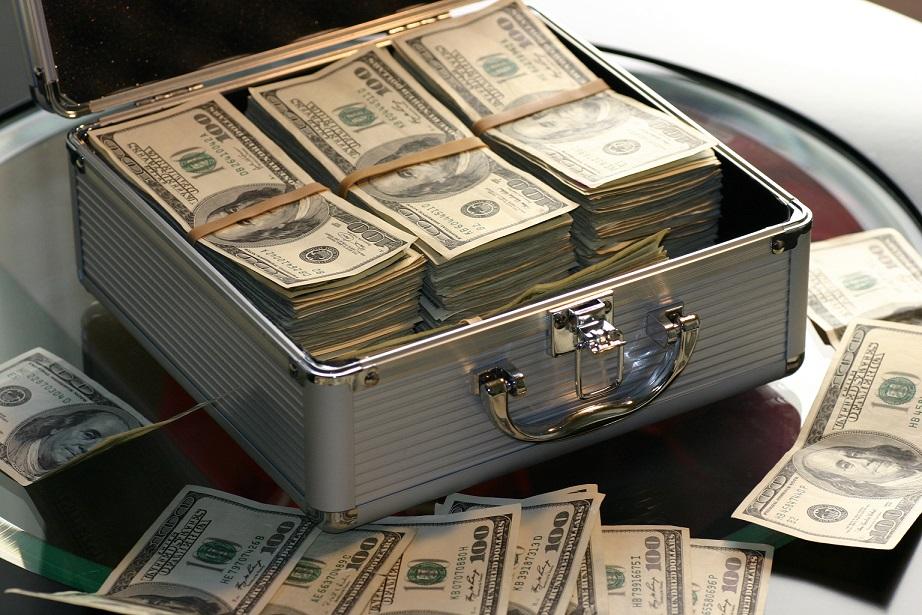 долари готівка валюта гроші
