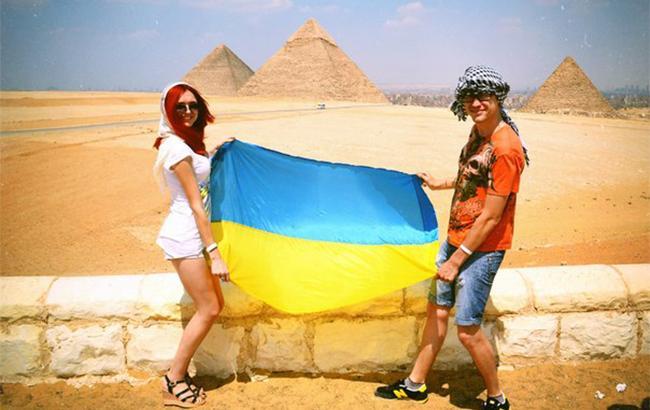 українські туристи в Єгипті