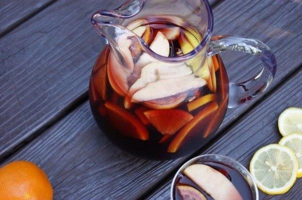 Сангрія – ідеальний напій для вашого пікніка