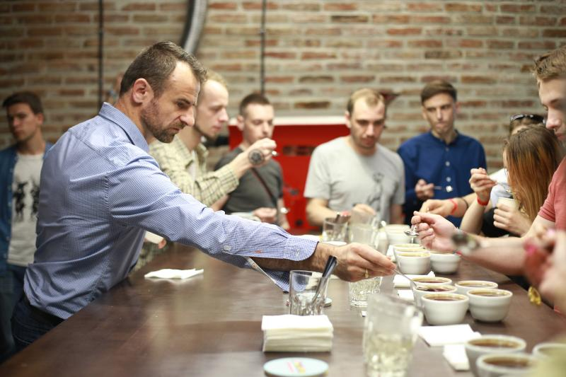 У Львові відкрили перший в Україні кавовий хаб