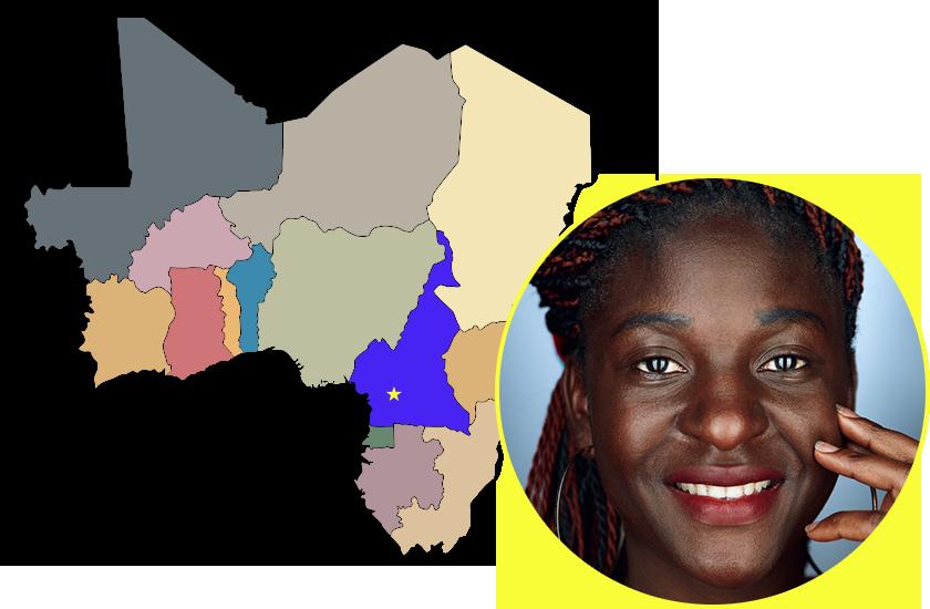 Манха Тіма Сідоні, Камерун