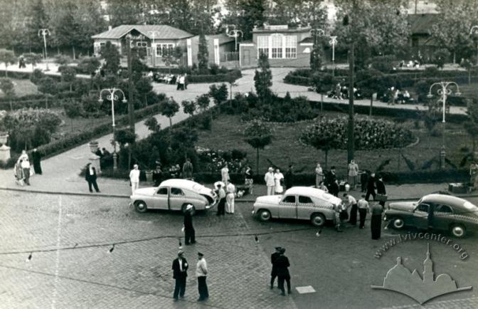 Дата: 1956-1958. Колекція:Юрій Завербний