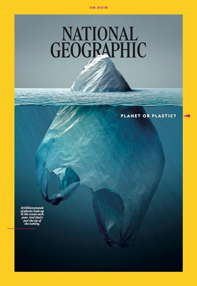 У новому випуску National Geographic з'явиться кампанія про пластичні відходи