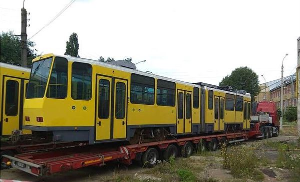 До Львова прибули перші трамваї з Німеччини