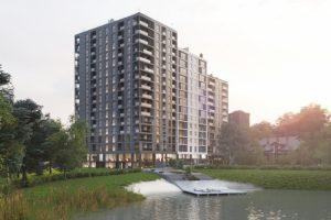 У Львові погодили будівництво двох житлових комплексів. Візуалізація