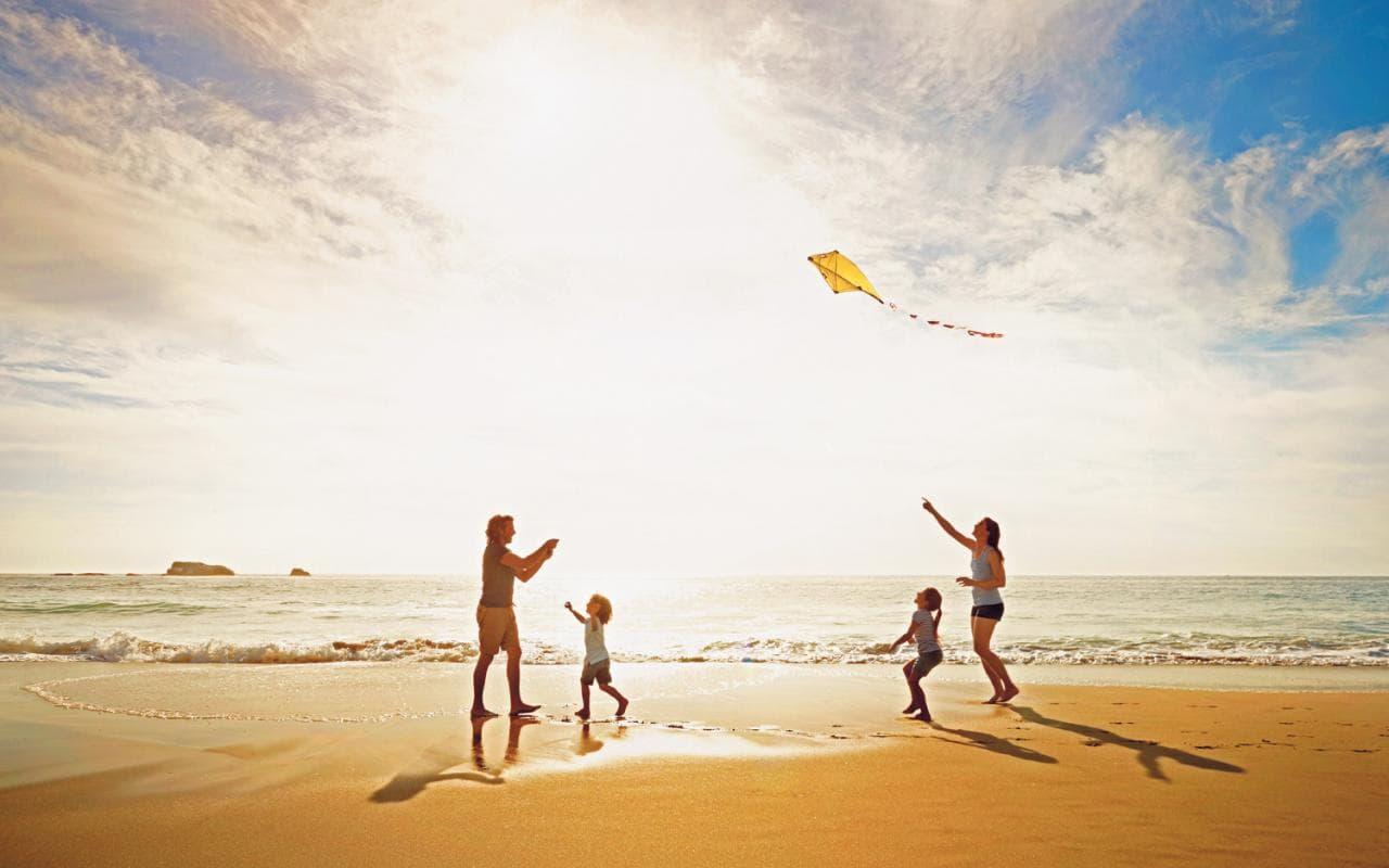 море пляж відпочинок сонце відпустка сімя