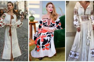 Сучасні вишиті сукні (30 фото)