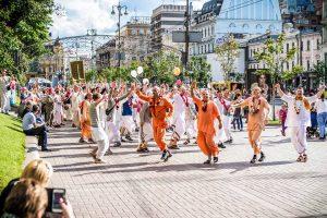 Сьогодні у Львові пройде традиційна яскрава Ведична хода «ХАРІНАМА». Маршрут