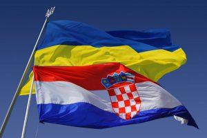 """""""Слава Україні"""" у Москві: Хорватські вболівальники підтримали Україну під час матчу Хорватія-Англія (відео)"""