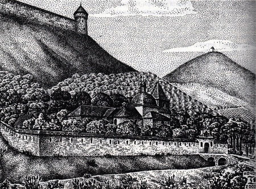 Церква Св. Івана Богослова. Реконструкція Ігора Качора