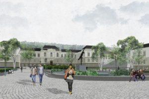 Яку багатоповерхівку можуть побудувати біля львівського медуніверситету. Візуалізація
