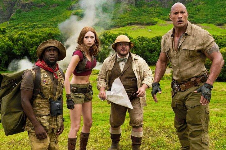 Джуманджі: Поклик джунглів /Jumanji: Welcome to the Jungle, 2017