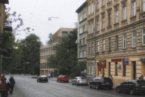Хто і що будує на місці колишнього військкомату на Личаківській. Візуалізація