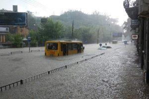 У «Львівводоканалі» кажуть, що каналізаційна система міста під час негоди працювала відмінно