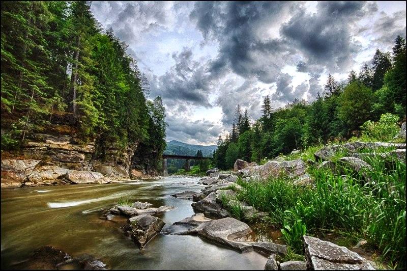 Гірські річки Карпат