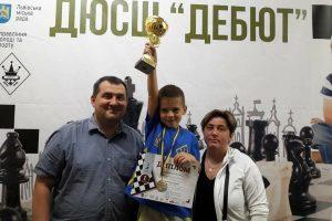 Семирічний львів'янин здобув «бронзу» на Чемпіонаті Європи з шахів (фото)