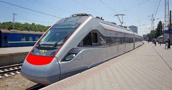 швидкісний електропоїзд електропотяг ЕКр1 «Тарпан» потяг укрзалізниця