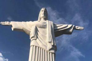 У Трускавці встановили копію бразильського пам'ятника Христа-Спасителя