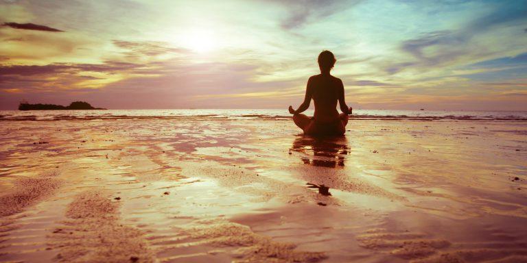 спокій гармонія йога пляж море насолода нірвана
