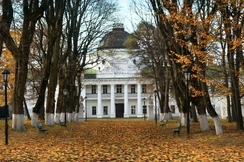 Качанівський палацово-парковий комплекс, Чернігівська область