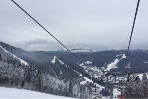 Зимова казка: перший сніг вкрив Буковель (фото, відео)
