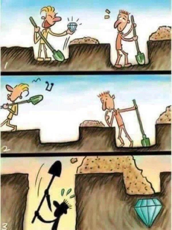 Картинка с алмазами не сдаваться
