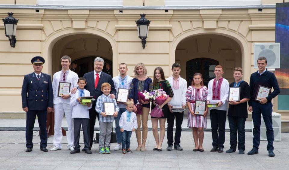 Восьмирічний хлопчик зі Львова став «Героєм-рятувальником року-2018»