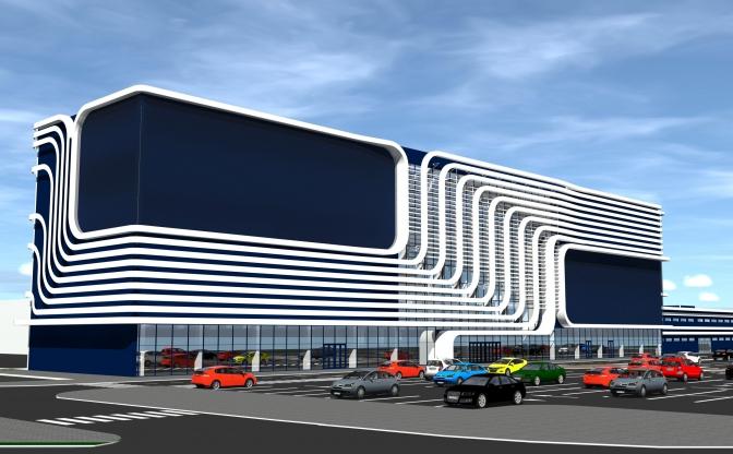 На вулиці Городоцькій побудуть торговий центр. Візуалізація