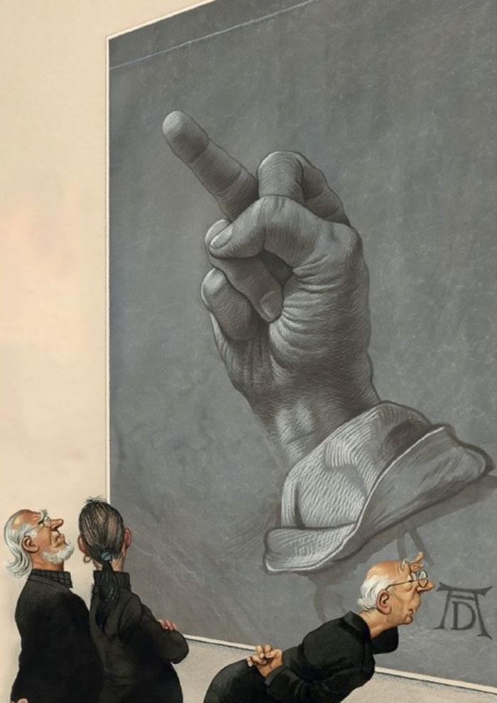 30 абсурдних і чесних ілюстрацій