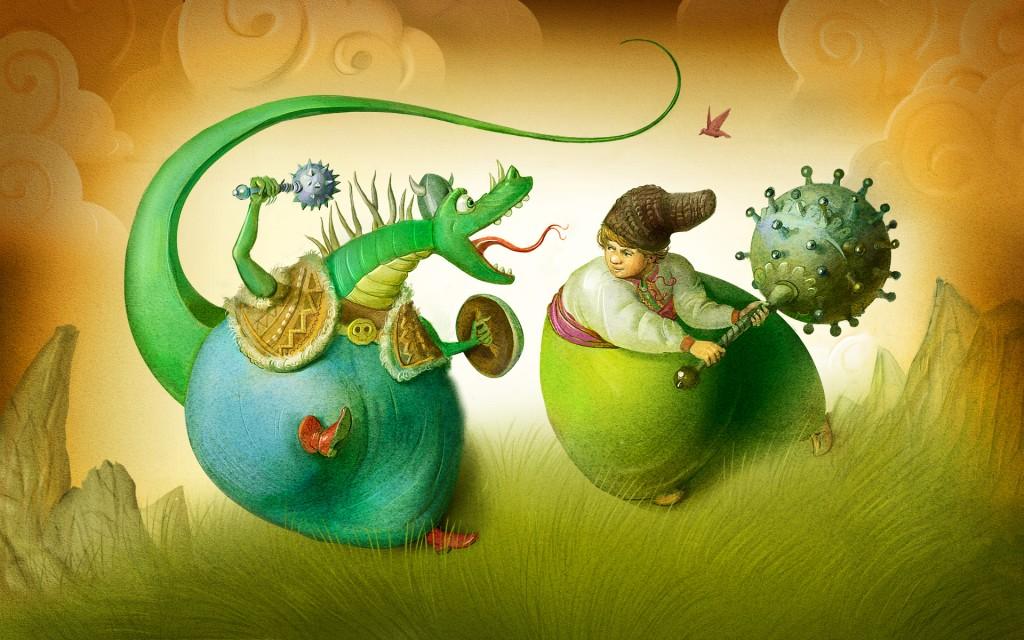 """""""Котигорошко"""" з розкішними ілюстраціями Івана Сулими в безкоштовній електронній книжці для iPad"""