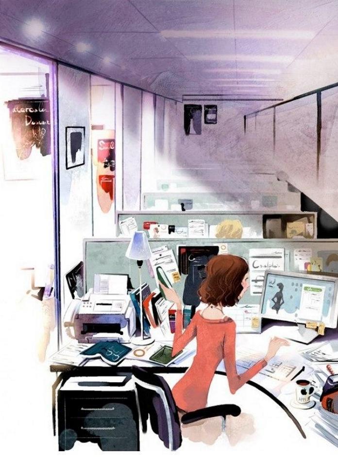 Милі ілюстрації від художника, який зрозумів, що таке щастя