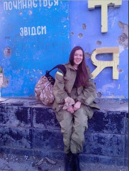 Ірина Іванюш, медсестра 93-ої ОМБР, позивний «Лютик».