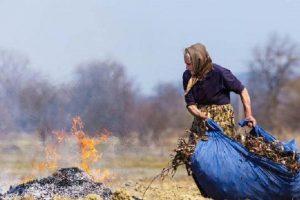 Голова ОТГ Львівщини пропонує грошову винагороду за інформацію про паліїв сухої трави