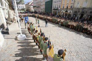 У Львові відбулось Відкриття пластового року. Фото