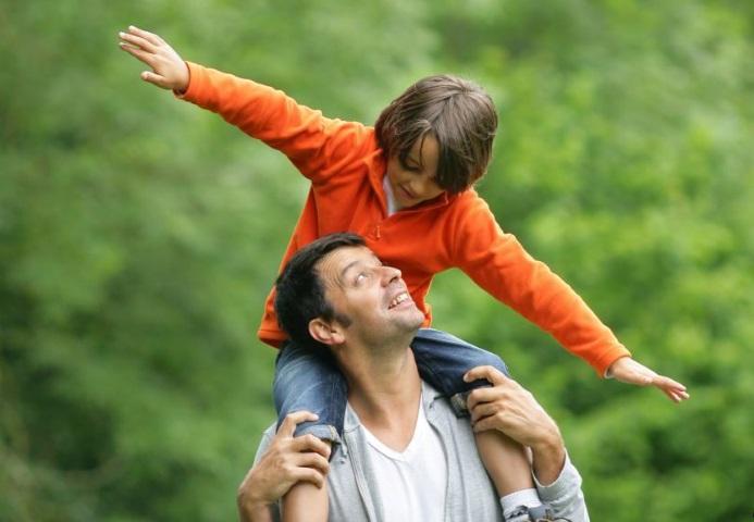 батько тато татусь син дитина діти дітям