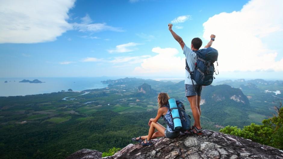 похід гори туризм