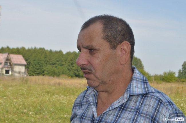Зступник голови ківерцівської громадської організації «Терне Рома» Степан Чужук