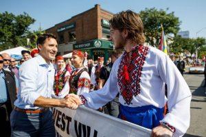 Джастін Трюдо взяв участь у відкритті українського фестивалю в Торонто
