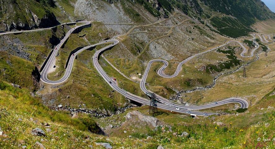 Найкрасивіша дорога Європи - Трансфагараш у Карпатах (відео)