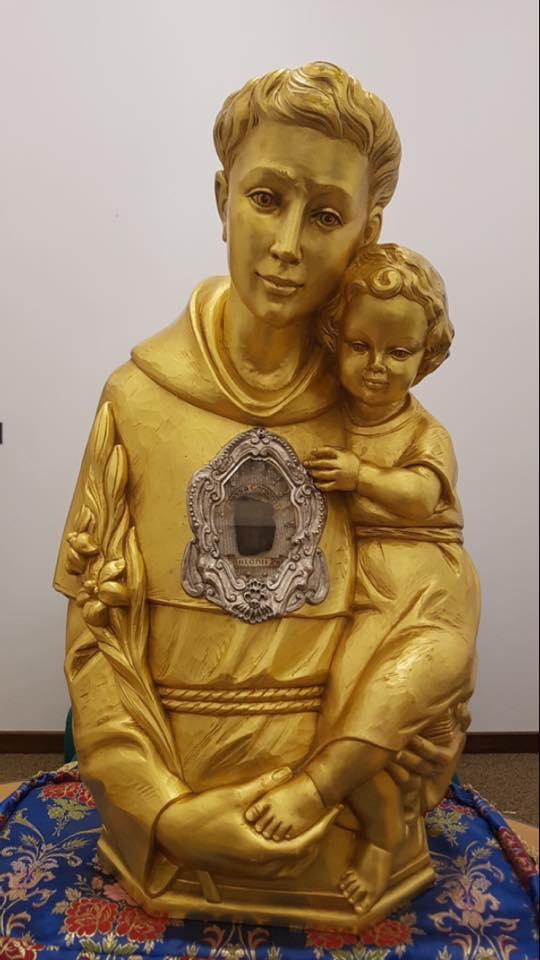 мощі святого Антонія Падуанського