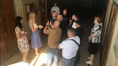 Праворадикали захопили палац культури у Львові, щоб зірвати неіснуючі «фашистські заходи»