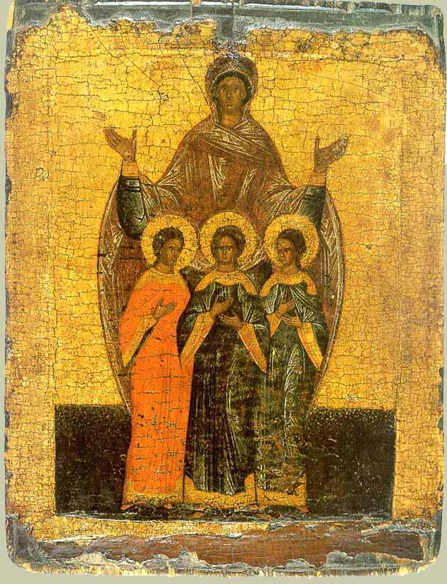 Віри, Надії, Любові та їх матері Софії