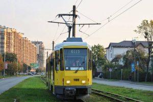 На проспекті Чорновола пропонують побудувати трамвайну колію