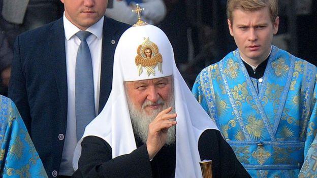 Патріарх Московський Кирило в Мінську напередодні cиноду РПЦ