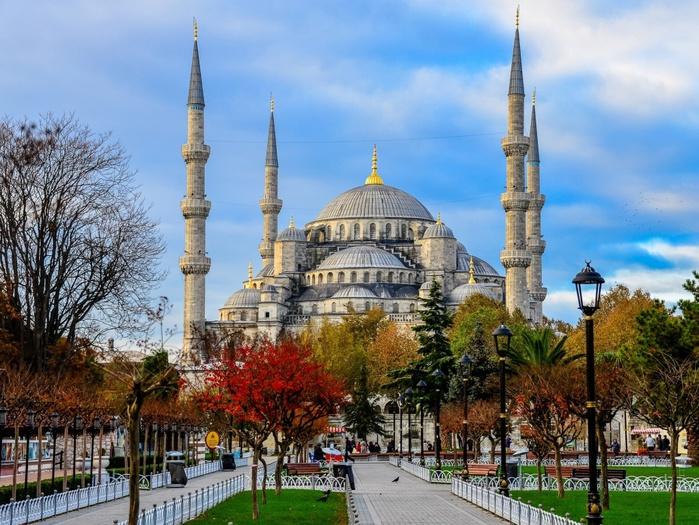 осінь Стамбул