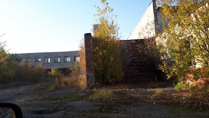 Наявний стан будівель на території Львівського молочного заводу